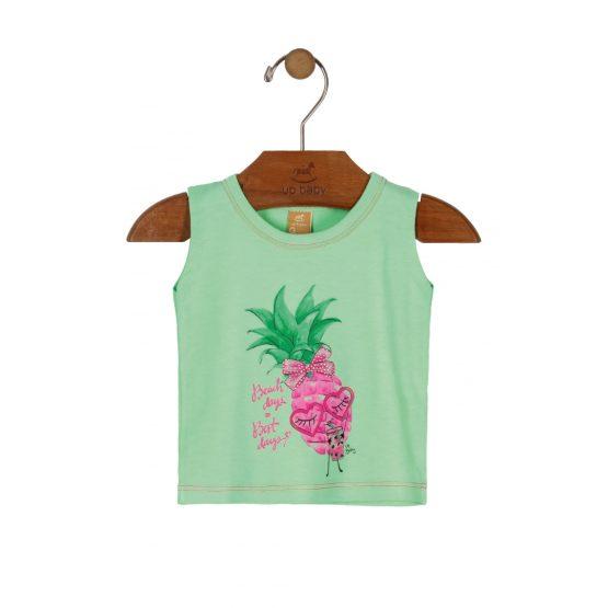 Blusa sem manga – Abacaxi