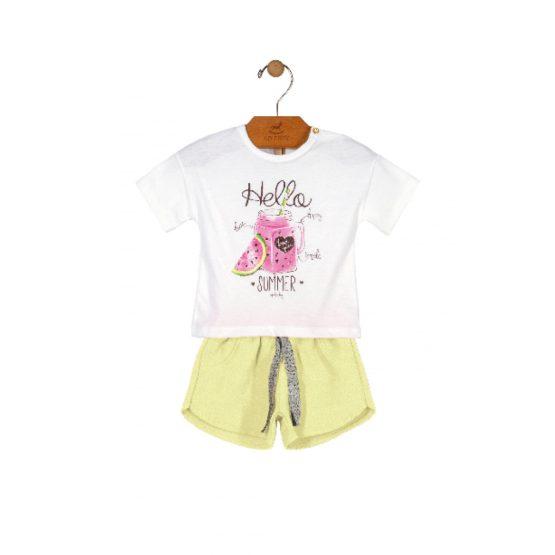 Conjunto blusa e short – Summer