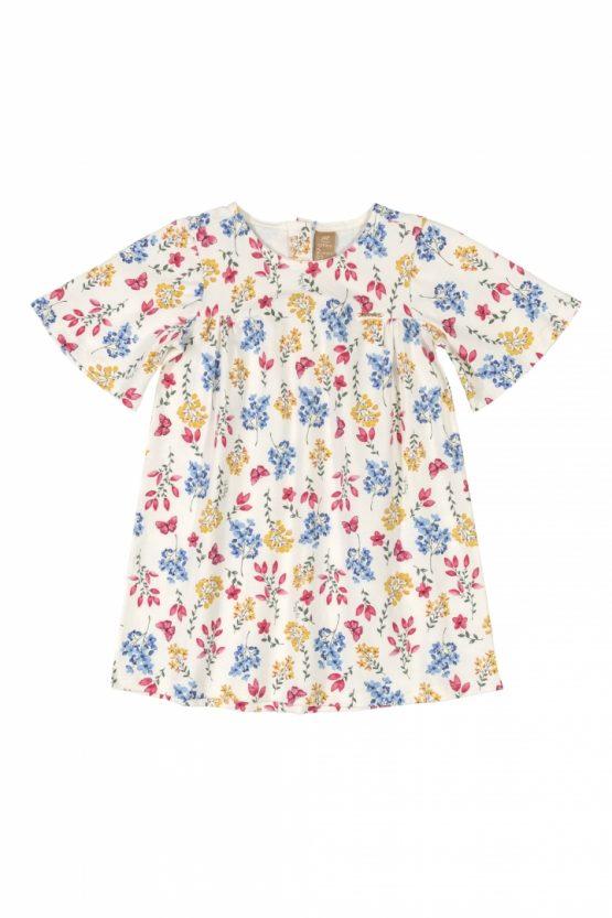 Vestido manga curta – Floral