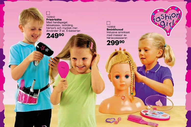 brinquedos para meninos e meninas