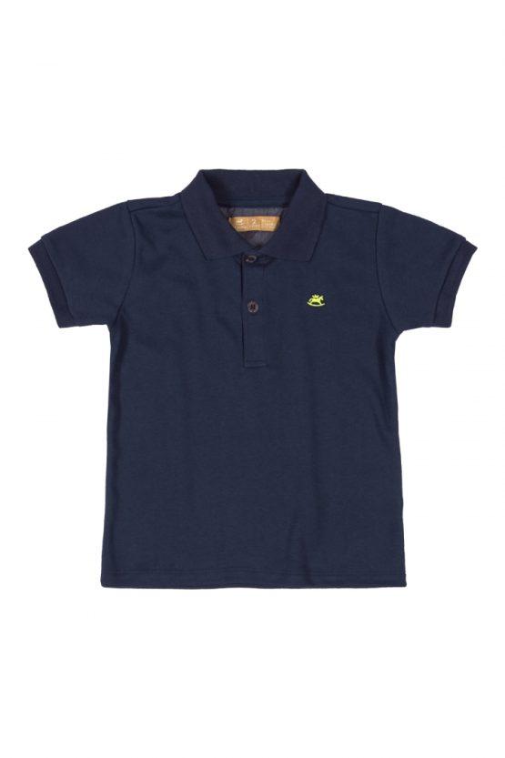 Camisa polo manga curta
