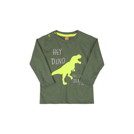 Camiseta manga longa – Dinossauro