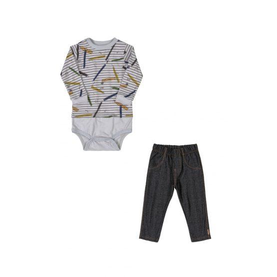 Conjunto body e calça – Lápis de cor
