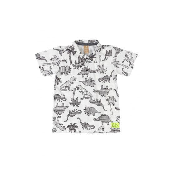 Camiseta gola polo – Dinossauro