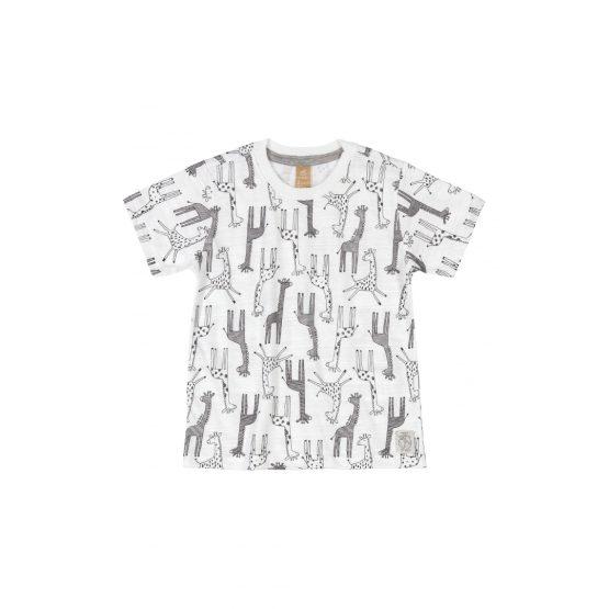 Camiseta manga curta – Girafa