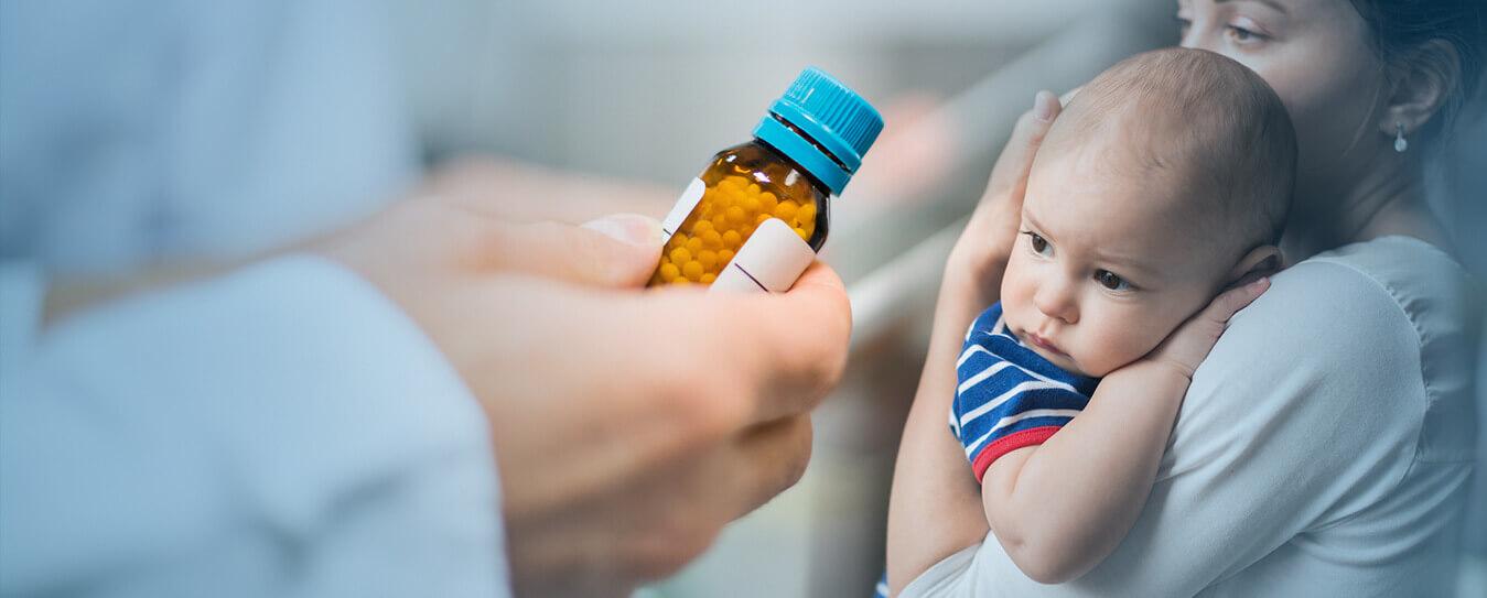 homeopatia em crianças