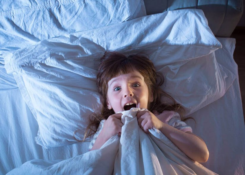 terror noturno - sono infantil