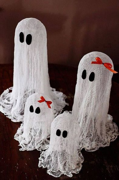 faltasma flutuante - Festa de Halloween infantil
