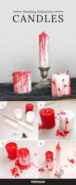 velas de halloween infantil