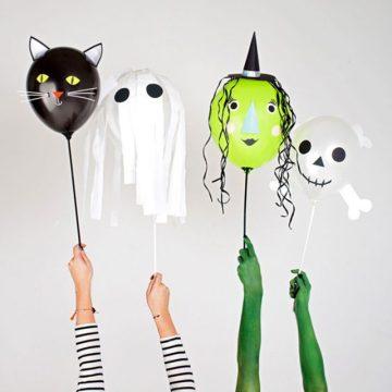 balão personalizado diversos Festa de Halloween infantil