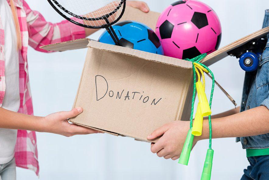 doação no dia das crianças