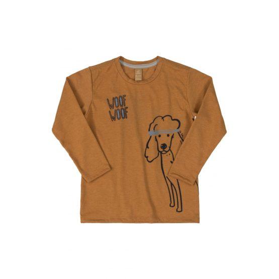 Camiseta manga longa – Poodle