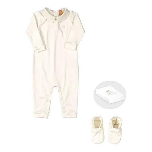 Conjunto macacão e sapatinho – Meu primeiro Up Baby