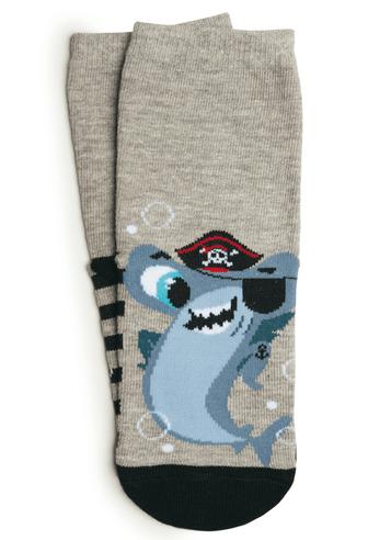 Meia soquete Tubarão