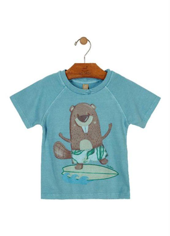Camiseta manga curta – Castor