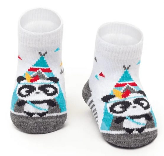 Meia soquete Panda