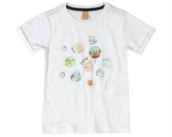 Camiseta manga curta – Fundo do mar