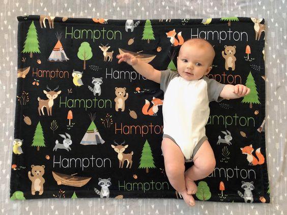 coberta personalizada bebê