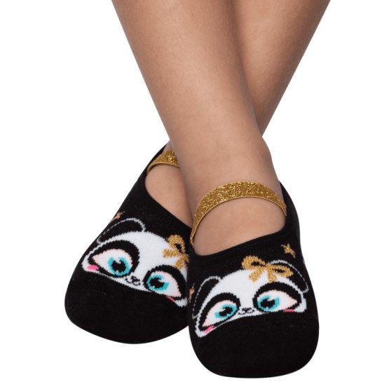 Sapatilha Panda Brilho
