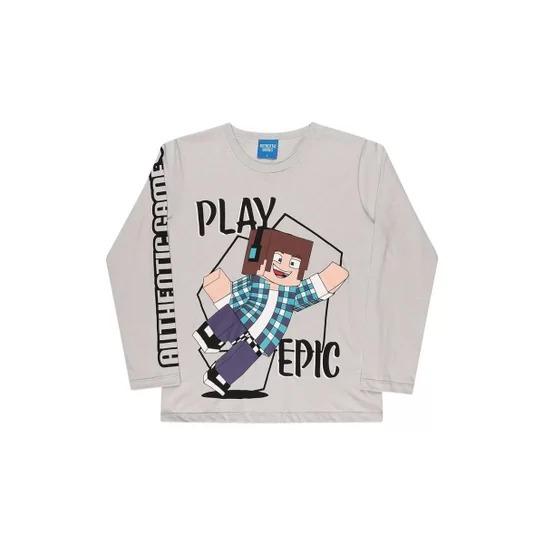 Camiseta manga longa – Authentic Games