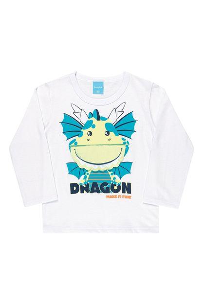 Camiseta manga longa – Dragão