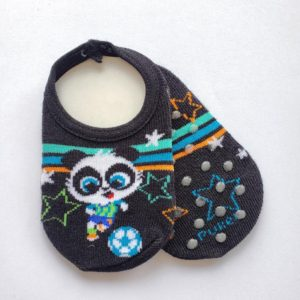 Sapatilha invisível Panda