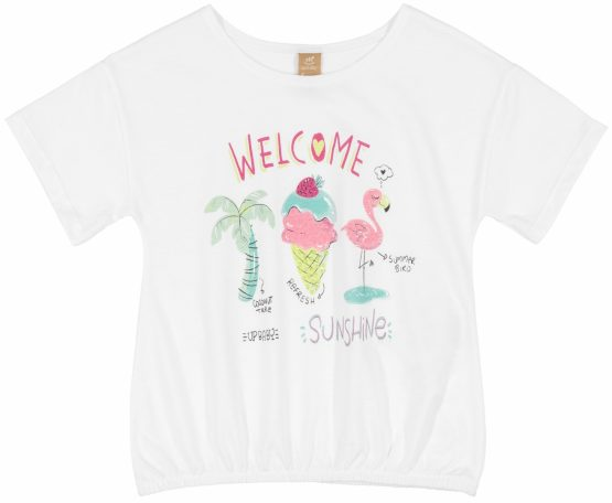 Blusa manga curta – Sunshine