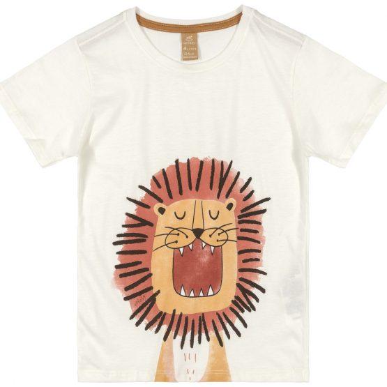 Camiseta manga curta – Leão