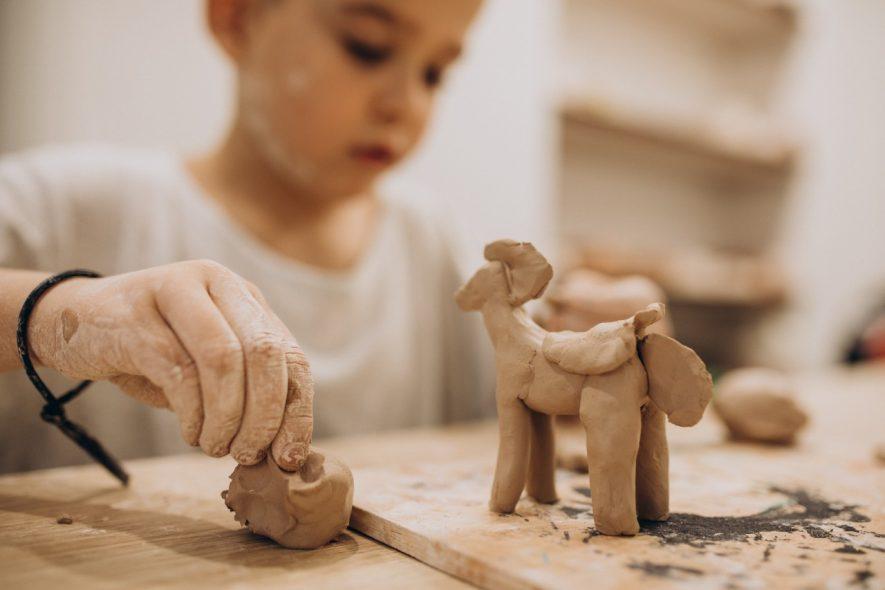 importância da arte argila