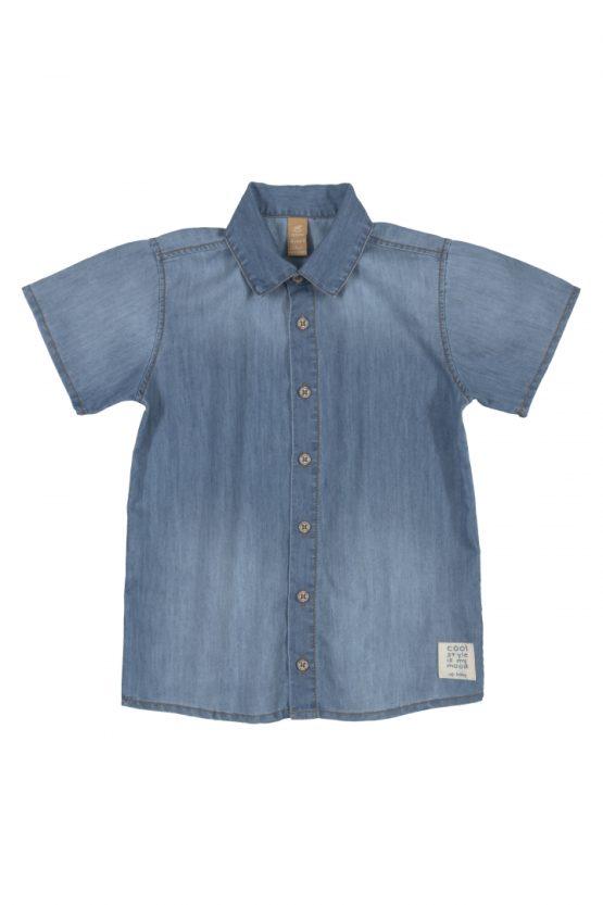 Camisa manga curta – Jeans